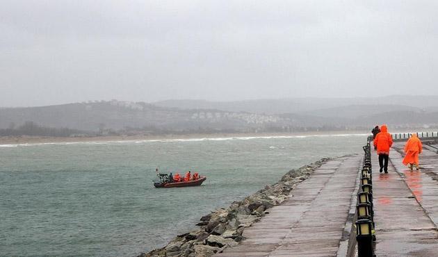 Şile'de batan gemiden kötü haber