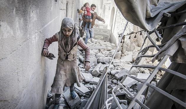 Suriye'de geçen ay 209'u çocuk 923 sivil hayatını kaybetti