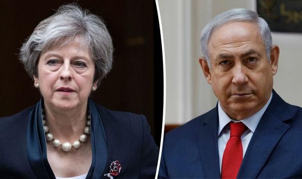 Protestolara rağmen Netanyahu ve May'den Balfour kutlaması