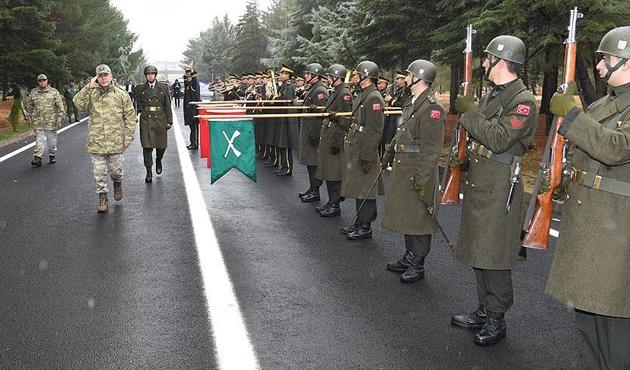 Genelkurmay Başkanı Akar'dan Elazığ ve Tunceli'de denetleme