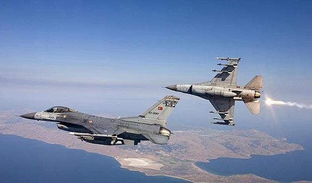 Şırnak'ta İHA ile tespit edilen 4 PKK'lı yok edildi