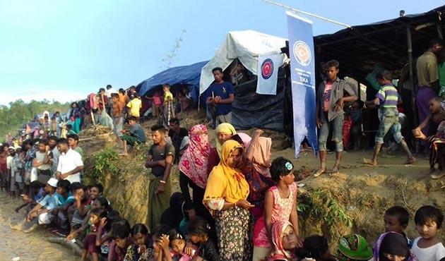 TİKA'dan Bangladeş'teki sel felaketi mağdurlarına yardım