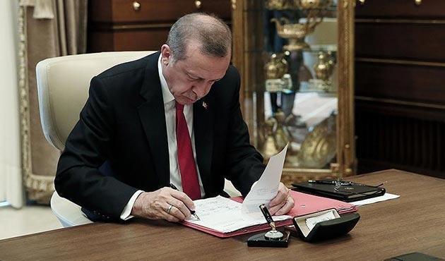 Cumhurbaşkanı Erdoğan 4 üniversiteye rektör atadı