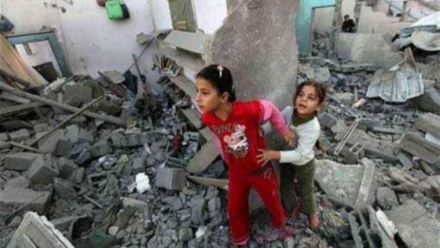 Gazze'de ilk engelli okulu açıldı