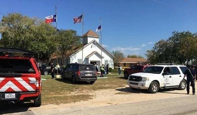 ABD'de kiliseye silahlı saldırı: 26 ölü
