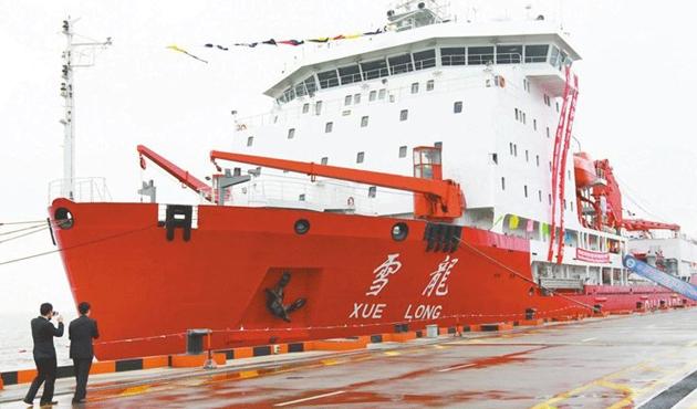 Çin 34'ncü kez Antartika'yı keşfe çıkıyor