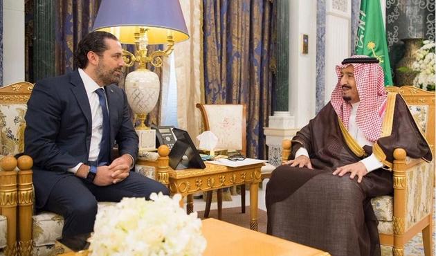 Kral Selman Hariri'yle görüştü
