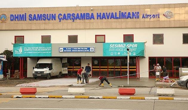 Samsun Çarşamba Havalimanı yeniden uçuşlara açılıyor