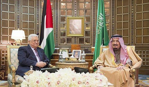 Abbas'tan 'sürpriz' Suudi Arabistan ziyareti