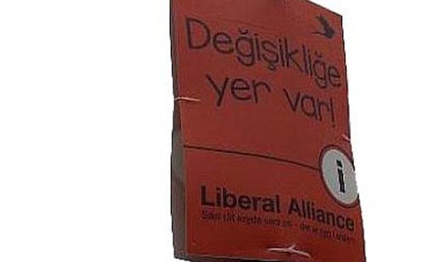 Danimarka partisinin Türkçe ile imtihanı