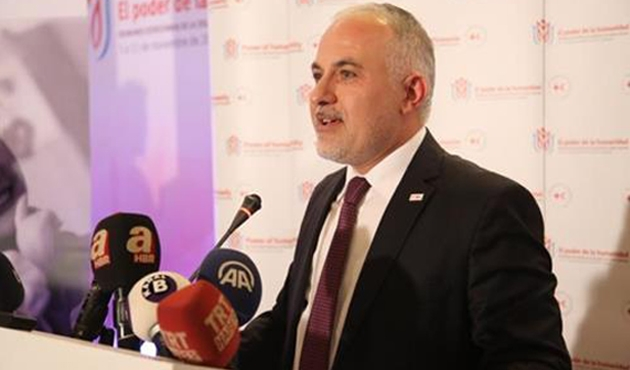 Türk Kızılayı, Avrupa Kıta Başkanı oldu