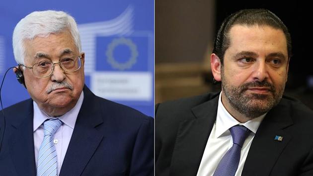 Abbas, Hariri ile telefonda görüştü