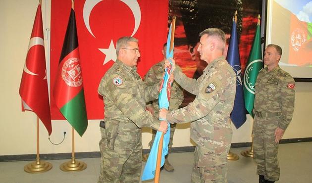 Afganistan'daki Türk askeri birliğinde görev değişimi