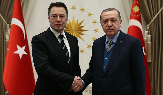 Cumhurbaşkanı Erdoğan, Elon Musk'ı Beştepe'de kabul etti