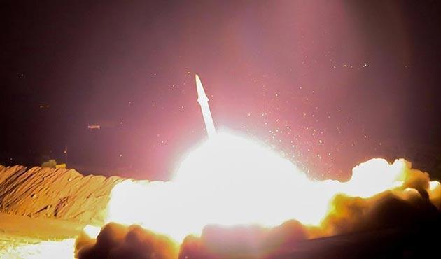 Husilerin balistik füze saldırısı engellendi