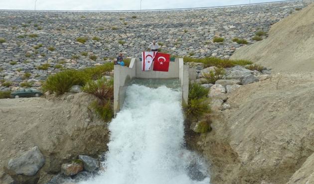 Kıbrıs Barajı'nın yüzde 25'i tamamlandı