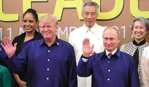 Trump: Putin'e ABD seçimlerine müdahale edip etmediğini tekrar sordum