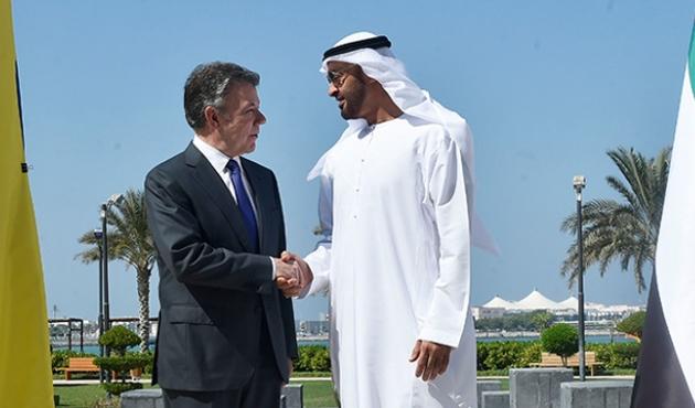 BAE'den Kolombiya'ya 45 milyon dolarlık destek