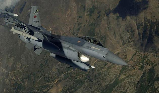 TSK'dan sınır ötesindeki PKK hedeflerine hava harekatı