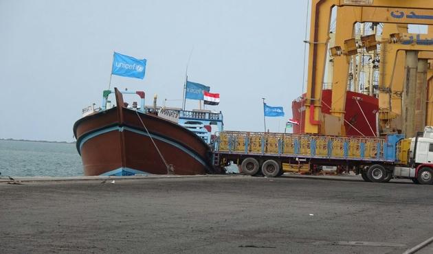 Stratejik liman Hudeyde yeniden açıldı