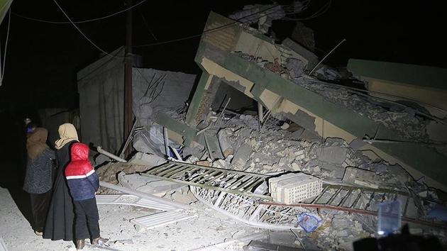 Irak'da 7,2 şiddetinde deprem