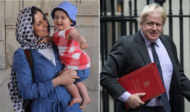 Johnson'dan İran'da tutuklu İngiliz için özür