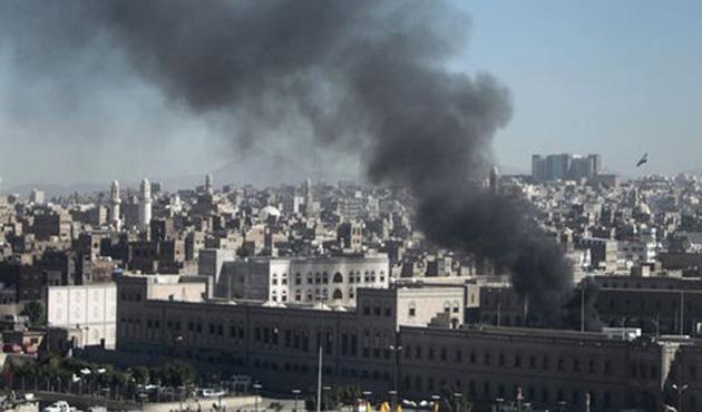 Koalisyon güçleri Sana'yı vurdu: En az 70 Husi öldü