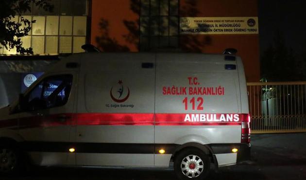 Sancaktepe'deki öğrenci yurdunda 45 öğrenci hastanelik oldu