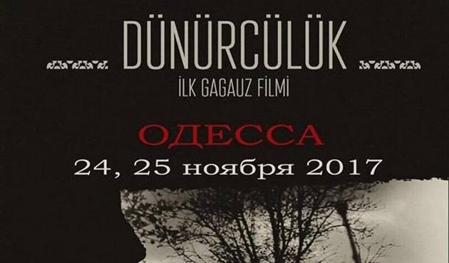 İlk Gagavuz sinema filmi Odesa'da gösterime girecek