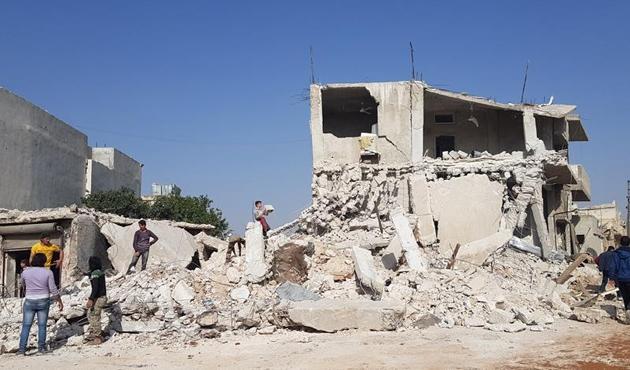 Halep'teki pazar yeri saldırısında ölü sayısı 60'ı aştı