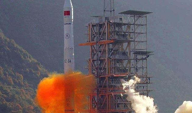 Çin, meteoroloji uydusu fırlattı