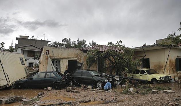 Yunanistan'daki sel felaketinde ölü sayısı artıyor