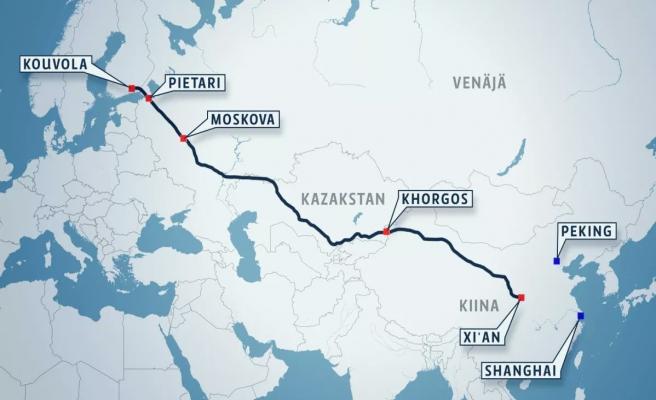 Çin Finlandiya'ya 'demir ipek yolunu' bağladı