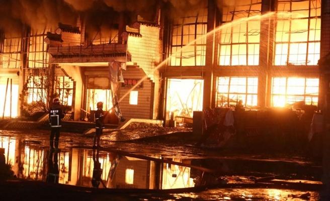 Pekin'de korkunç yangın: 19 ölü