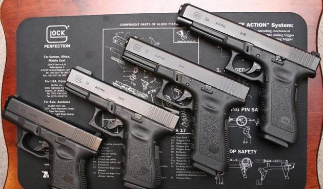ABD'den gelen gemide 'glock' silah çıktı