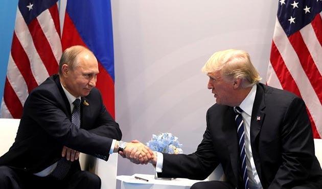 Putin ile Trump Suriye konusunda görüştü
