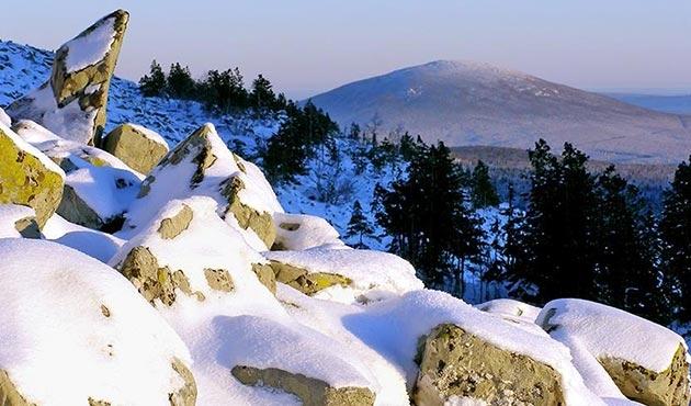 Ural Dağları üzerinde radyoaktif artışı