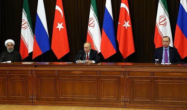 Soçi üçlü Suriye Zirvesi Ortak Bildirisi
