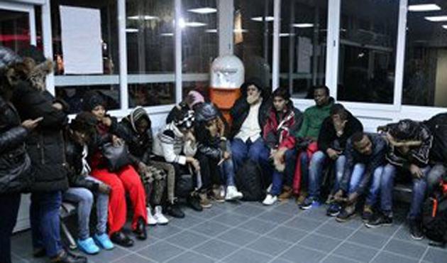 Bodrum'da 45 kaçak göçmen yakalandı