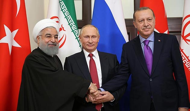 Soçi'deki üçlü Suriye zirvesinde Erdoğan ve Putin'den kritik açıklamalar