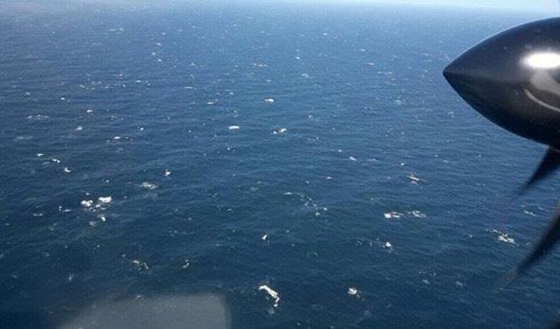 Bulunamayan denizaltının bölgesinde patlama