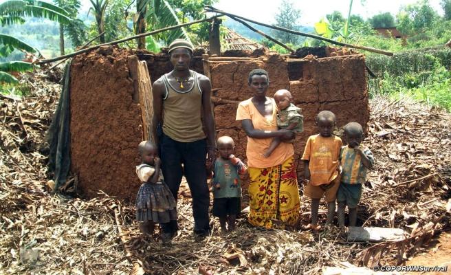 Burundi'de 70 bin kişi evsiz