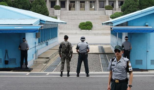 Kuzey Kore sınırdaki askerlerini değiştiriyor