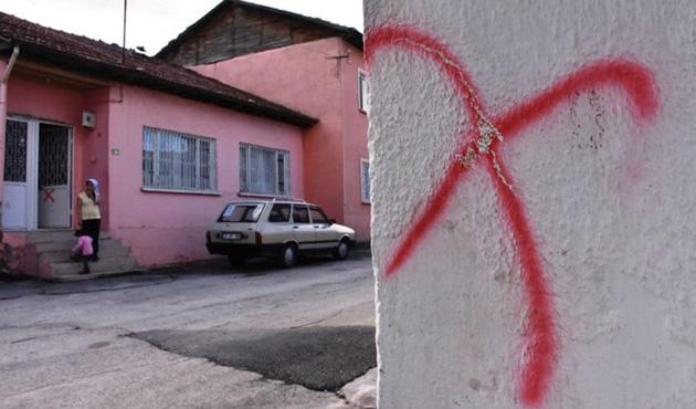 Malatya'da evleri işaretlenen Alevilere ziyaret