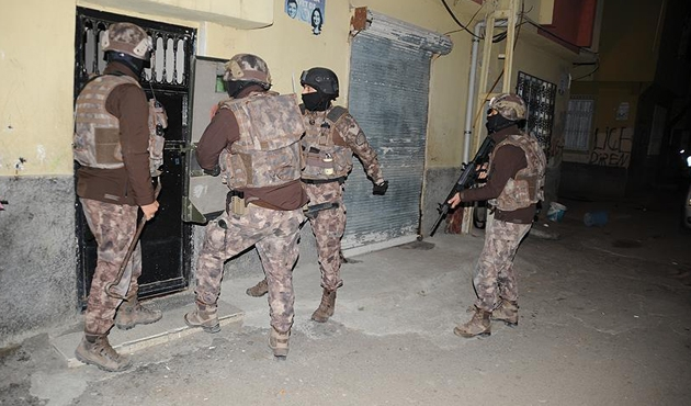 Adana merkezli 6 ildeki terör operasyonunda 19 gözaltı