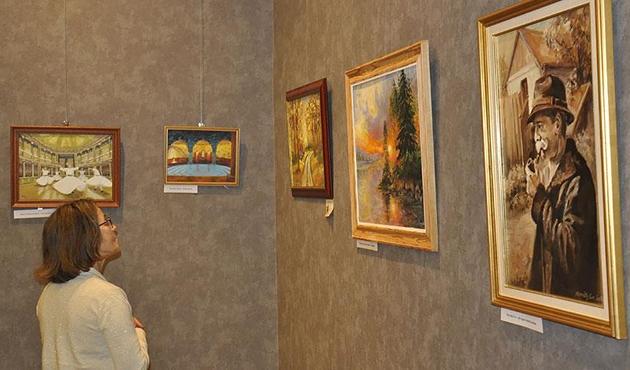 Macaristan'daki resim sergisinde Osmanlı izleri