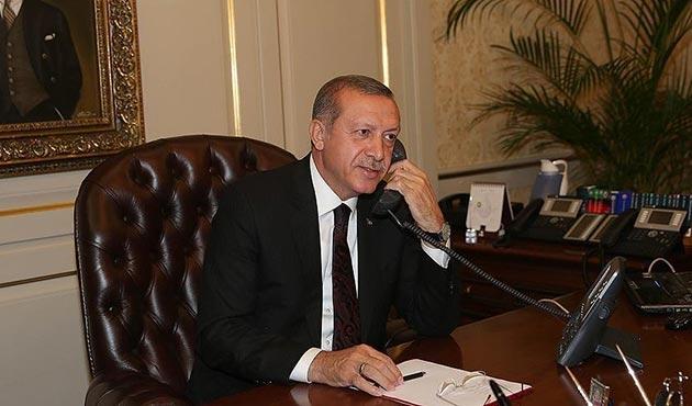 Erdoğan, Kuveyt Emiri Şeyh Sabah ile görüştü