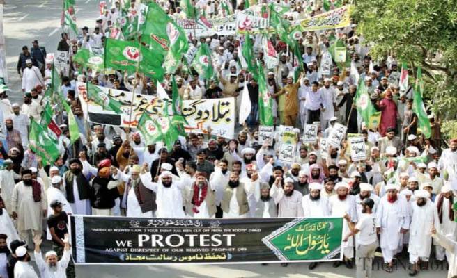 Pakistanlı gruptan'Hz. Muhammed'e yemin'in değiştirilmesine tepki