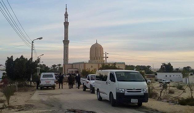 Mısır'daki cami saldırganlarından bazıları öldürüldü