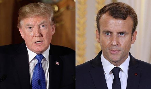 Trump ve Macron Mısır'daki saldırıyla ilgili Sisi ile görüştü